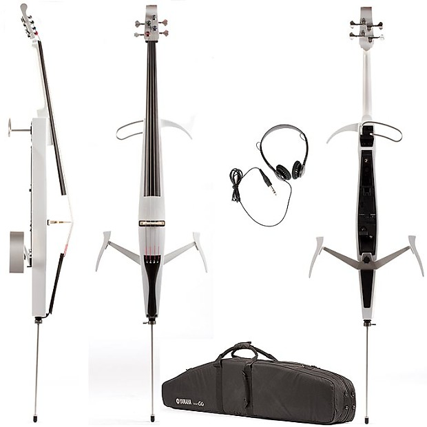 Orchestral Strings Yamaha SVC-50 Silent Cello Pearl White