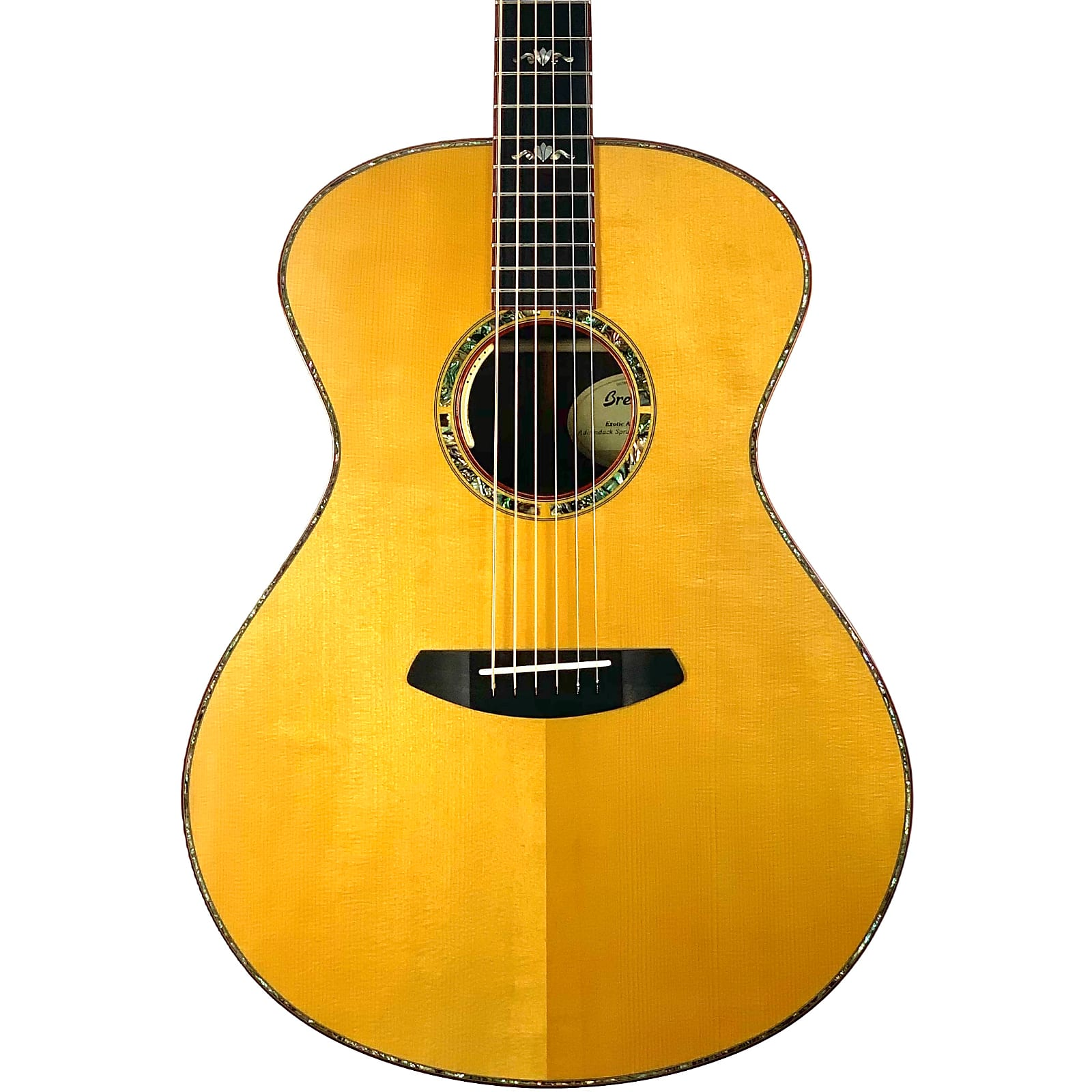 Breedlove Exotic Amazon Concerto E Adirondack Brazilian Rosewood Acoustic Guitar - Brand New!