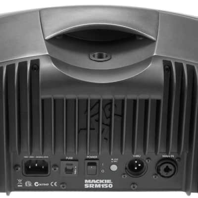 Mackie SRM150 Powered Active PA Monitor Speaker SRM-150