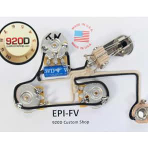 920D Custom Shop EPI-FV Wiring Harness for Gibson/Epiphone Flying V