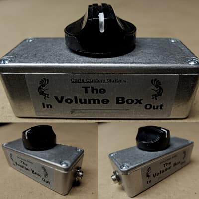 Carl's Custom Guitars Metal Volume Box Guitar Amp Effect Loop Smooth Taper Master Volume Attenuator for sale