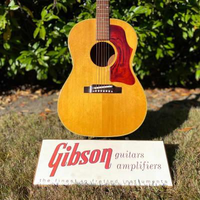 1967 Gibson B-25 Natural LG-3 Vintage