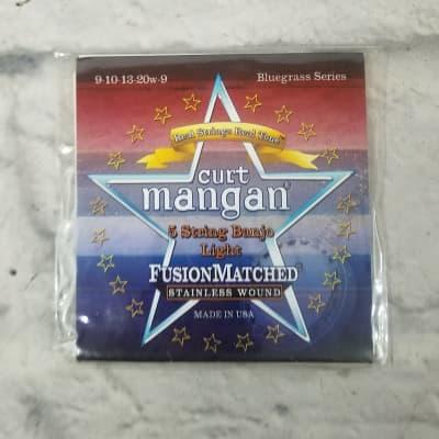 Curt Mangan 90721 5 String Banjo Light strings