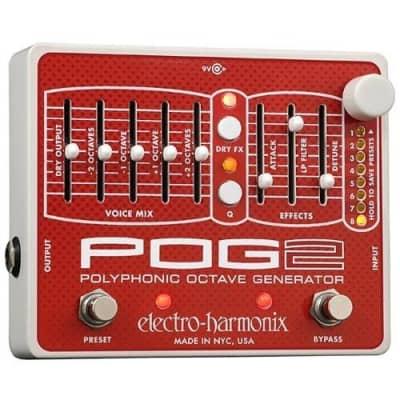 Electro-Harmonix POG 2 Polyphonic Octave Generator Pedal for sale