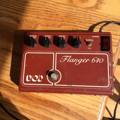 DOD  Flanger 640 1970's Burgundy for sale