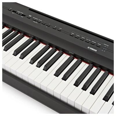 Yamaha P-125 Digital Piano 2020 - Overstocked - Black