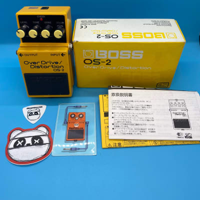 Boss OS-2 Overdrive/Distortion w/Original Box | Fast Shipping!