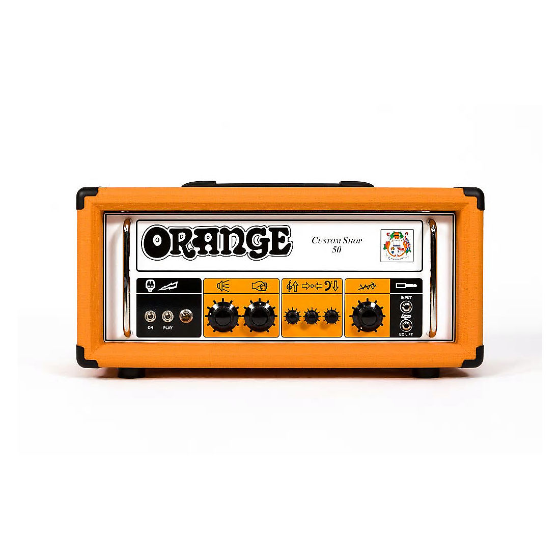Orange CS50H Custom Shop Single Channel 50w Guitar Head | Reverb