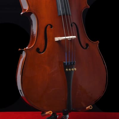 Cremona SC-200-12 Premier Student Cello 1/2 Size Free Shipping for sale