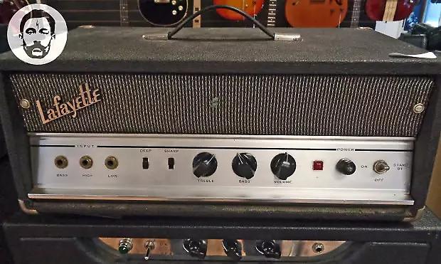 lafayette univox 1235 25 watt 6l6 guitar bass amplifier reverb. Black Bedroom Furniture Sets. Home Design Ideas