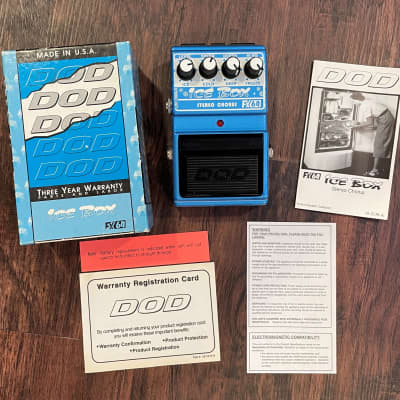 DOD FX-64 Ice Box Stereo Chorus (Jason Lamb series) for sale