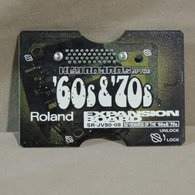 Roland SR-JV80-08 Keyboards of the '60s & '70s Expansion Board [Three Wave Music]