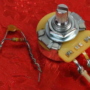 Fralin Blender Potentiometer Pot & Standard Volume Kit For Fender Strat