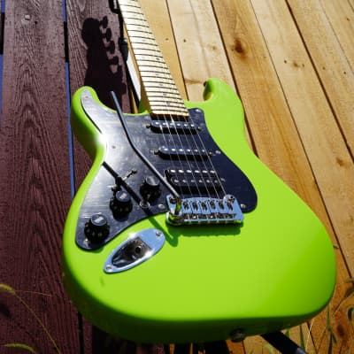 G&L USA  Fullerton Deluxe Legacy HB    Sublime Green    Left Handed w/ Matching Gig Bag (2020) for sale