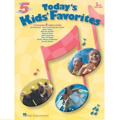 Today's Kids' Favorites (2nd Edition) - Five-Finger Piano