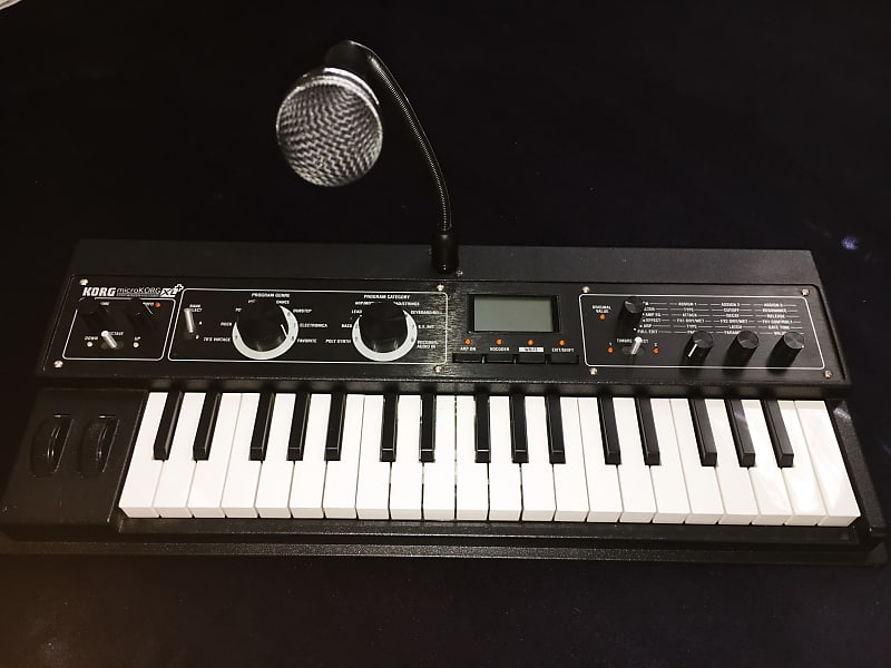 korg microkorg xl 37 key synthesizer vocoder reverb. Black Bedroom Furniture Sets. Home Design Ideas
