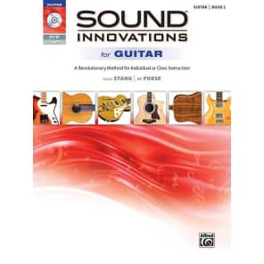 Alfred 00-40868 Sound Innovations for Guitar Book/DVD (Volume 2)