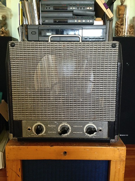 1960 39 s heathkit model a7 tube 7w guitar amp head usa reverb. Black Bedroom Furniture Sets. Home Design Ideas