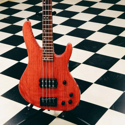 Washburn XB-900 Custom Shop  - Transparent Red (1997, Made in USA!) for sale