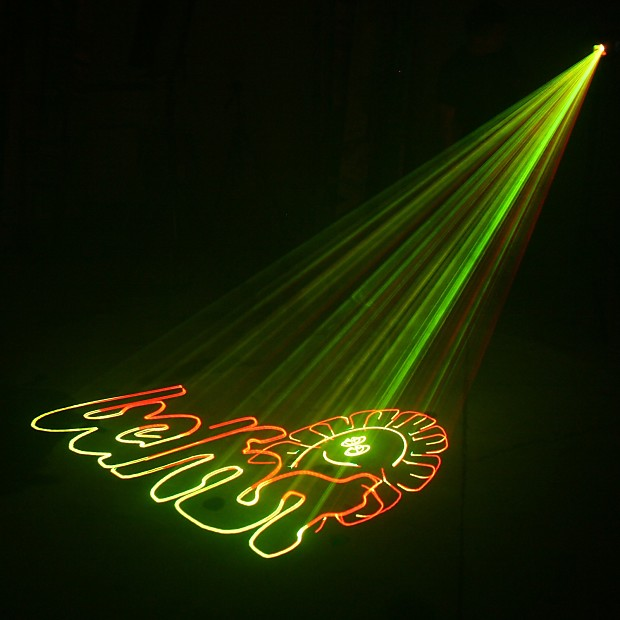 Dragonx 3d Party Light Animated Laser Light Show Cartoon