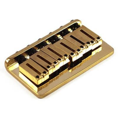 Fende American Hard Tail Strat Bridge Assembly '86-'07 Gold