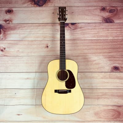 Martin D-18 Standard Dreadnought Acoustic Guitar Natural