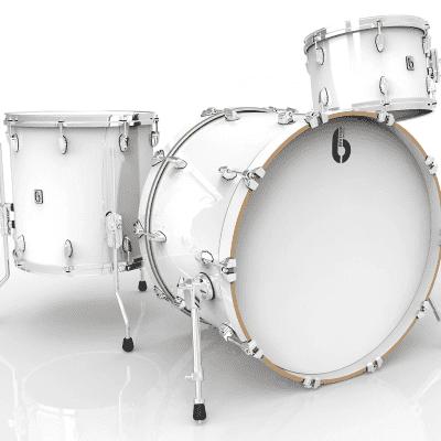"British Drum Company Legend Series Club 22 12x8 / 16x16 / 22x16"" 3pc Birch Shell Pack"