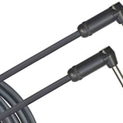 Planet Waves American Stage Instrument Cable Dual Right Angle 20 feet for sale