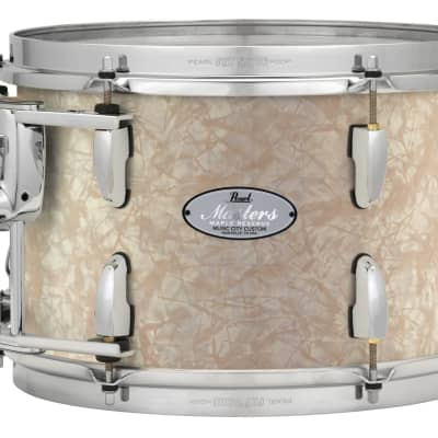"Pearl Music City Custom 8""x7"" Masters Maple Reserve Series Tom Drum w/optimount MRV0807T - Nicotine White Marine Pearl"