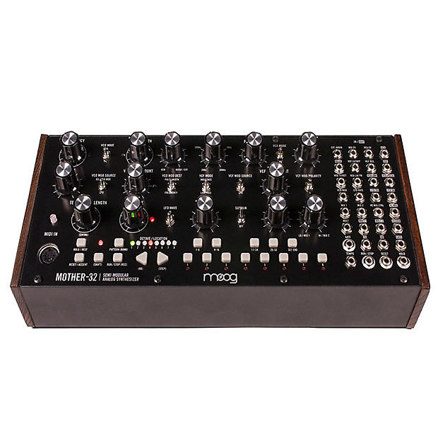 moog mother 32 semi modular synthesizer the midi store reverb. Black Bedroom Furniture Sets. Home Design Ideas