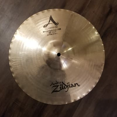 "Zildjian 14"" A Custom Mastersound Hi-Hat Cymbal (Bottom)"