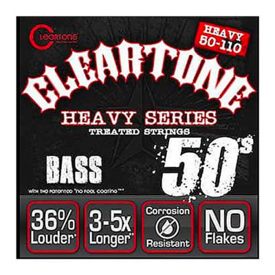 Cleartone 6550 50-110 Heavy Series Bass Strings