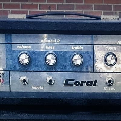 Coral Thor 100 1961 Black for sale