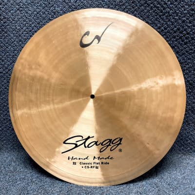 """Stagg 22"""" Classic Flat Ride Cymbal"""