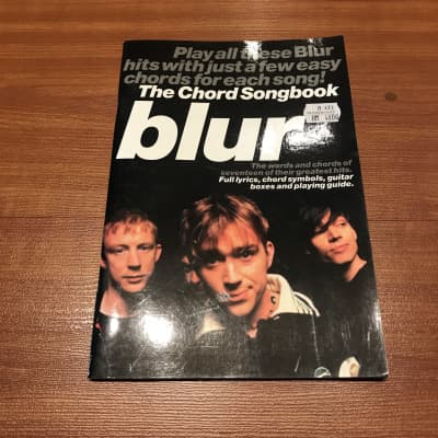 The Chord Songbook BlurMusic Book