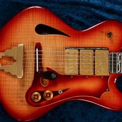 Lyric Zeuss 1995 Dark Cherry Sunburst for sale