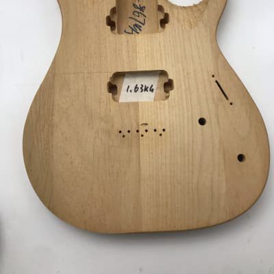 Hummingbird Electric guitar unfinished body for st style 1.63kg 0209-1 for sale