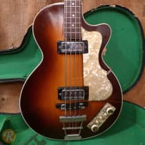 Hofner Club Bass 500/2 1960s Sunburst image