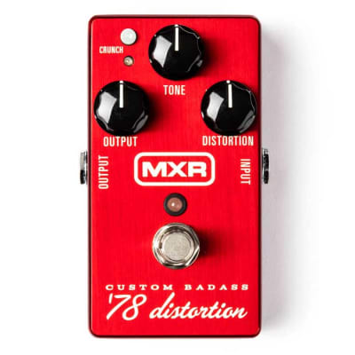 MXR M78 Custom Badass '78 Distortion Guitar Effects Pedal for sale