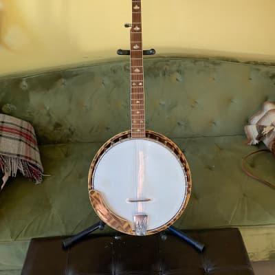 Conqueror Banjo Beautiful Wooden Weave for sale