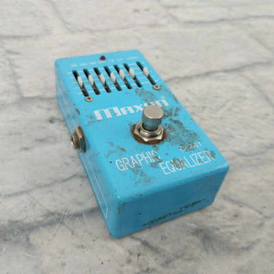 Maxon Graphic Equalizer Pedal for sale