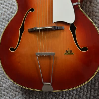 Alte Gitarre Guitar Musima Archtop Made in Germany for sale