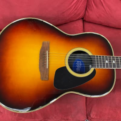 Applause AE-32 Acoustic Electric Guitar 1980's Sunburst for sale
