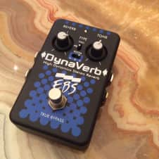 EBS  DynaVerb  High Dynamics Stereo Reverb 2017 Black/Blue