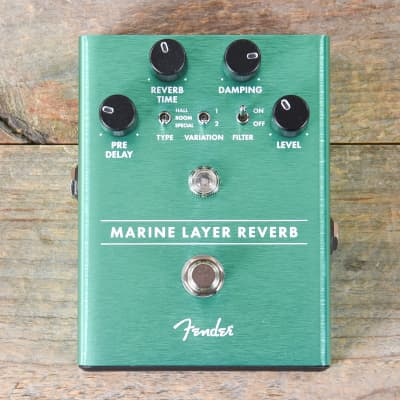 Fender Marine Layer Reverb Pedal MINT