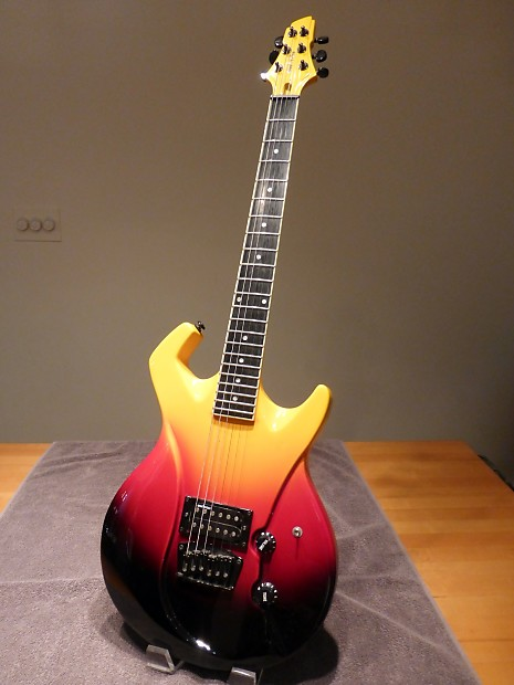 Car Tune Up Cost >> Switch Vibracell Guitar - Wild I - Fireburst - Ebonite | Reverb
