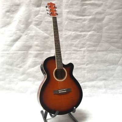 Starsun MJG201CE Acoustic guitar with EQ Sunburst for sale
