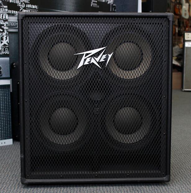 Peavey 410 TVX 300-Watt 4x10 Bass Speaker Cabinet with Horn | Reverb