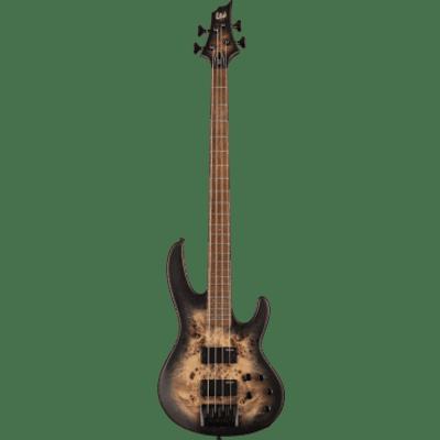 ESP LTD GES D4BP-BLKNBS Modele 400 - Noir brûlé satiné for sale