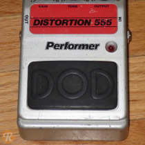 DOD Performer 555 Distortion 1980s Silver image